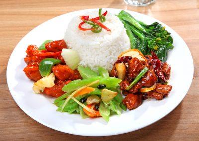 2 Veg 2 Meat Mixed Rice
