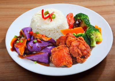 2 Veg 1 Meat Mixed Rice